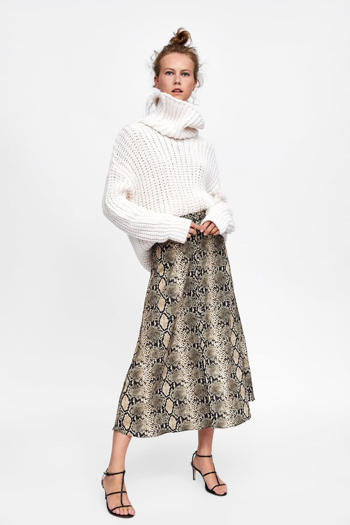 great deals 2017 special section newest Zara Snakeskin Print Skirt | Queen Letizia's Zara Snakeskin ...