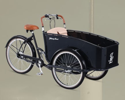 Johnny Loco Bike Transport Tykes!