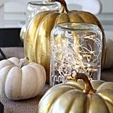 Light and Bright Luminary Mason Jar