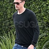 Alexander Skarsgard Breaks From His Leading Ladies For a Solo Lunch