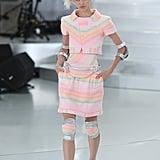Devon Also Walked in Chanel Haute Couture