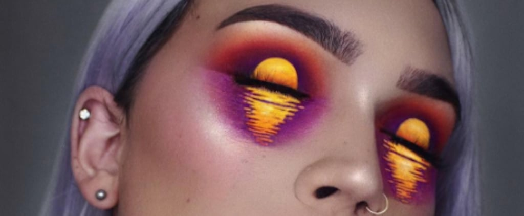 This Makeup Artist Transformed Her Face Into a Tropical Island Sunset