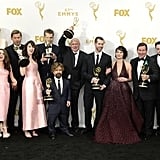 The Game of Thrones Cast at the 2015 Emmy Awards