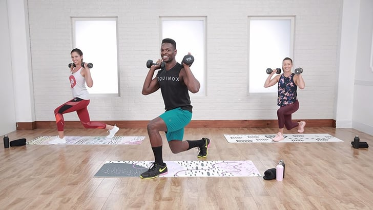 30-Minute HIIT Workout With Weights | POPSUGAR Fitness