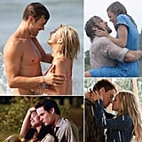 Love Lessons Inspired by Nicholas Sparks Stories Nicholas Sparks novels-turned-movies are known for steamy kisses in the rain, romantic boat rides, and fated relationships. Still, even in the midst of all the classic clichés, the stories offer plenty of thoughtful, important messages about love. From Message in a Bottle to Safe Haven, here are eight valuable love lessons to be learned from the works of Nicholas Sparks. Source: Relativity Media