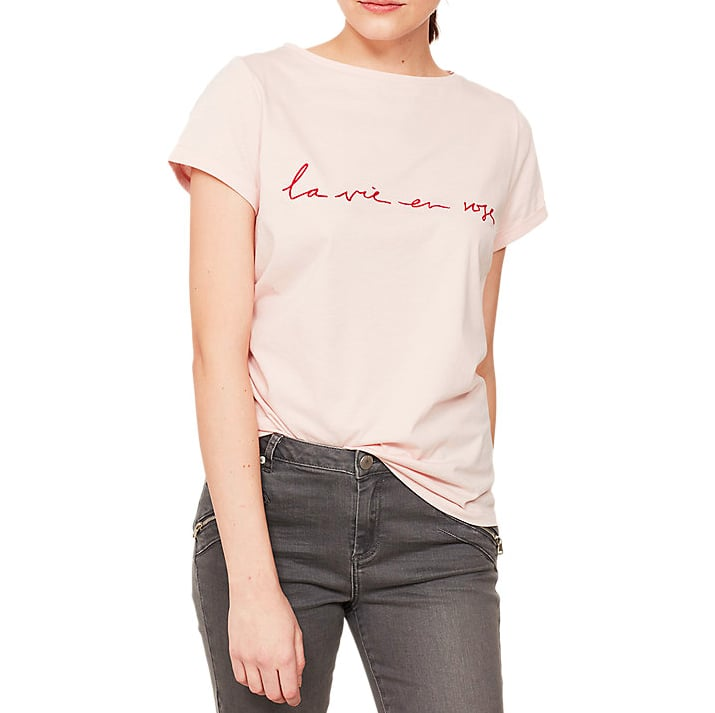 Mint Velvet La Vie En Rose T-Shirt
