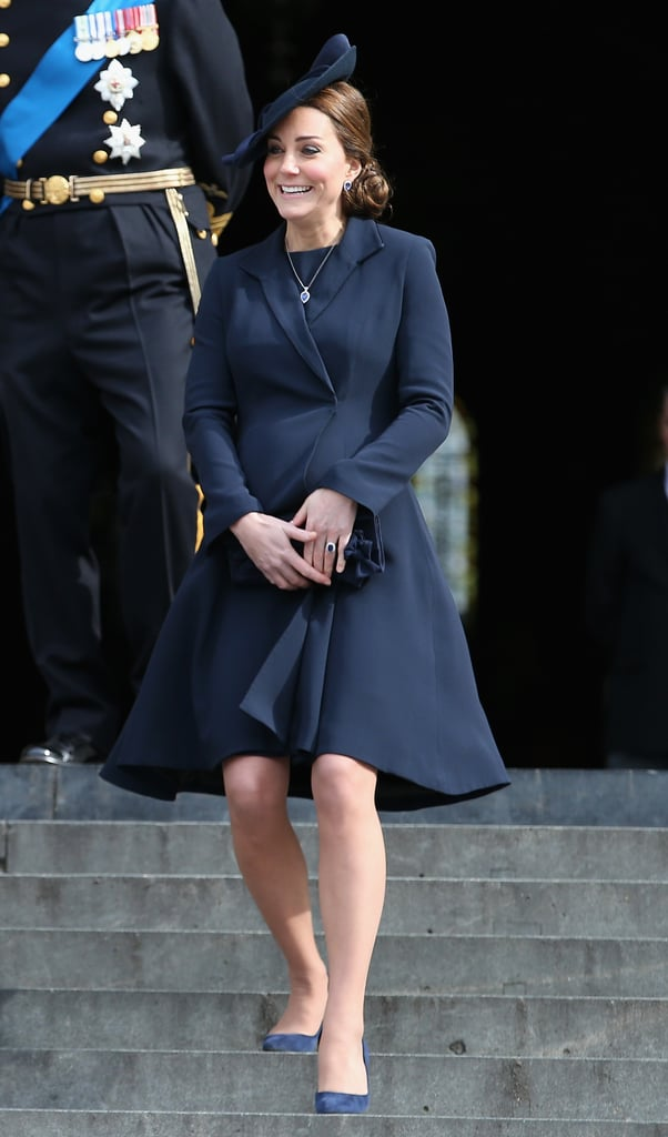 Kate Middleton at St. Paul's Cathedral in 2015