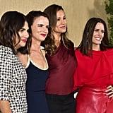 Pictured: Jenni Konner, Juliette Lewis, Jennifer Garner, and Ione Skye