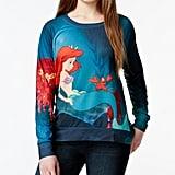 The Little Mermaid Sheer-Back Graphic Sweatshirt