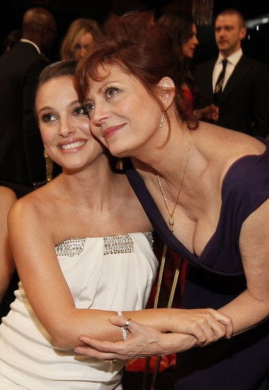 Natalie Portman and Susan Sarandon reunited during the 2011 show.