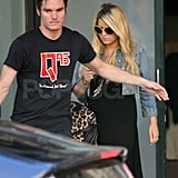 Jessica Simpson steps out during pregnancy rumors.