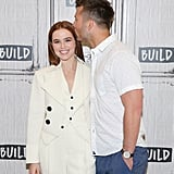 Glen gave her a sweet kiss on the head when they hit the red carpet in June 2018.