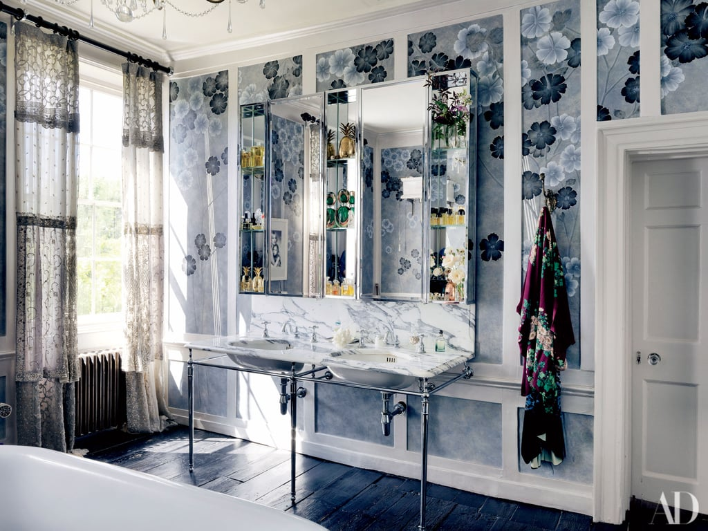 Kate Moss's Master Bath Is Inspired by Dusk — and It's Spectacular