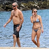 Following a European honeymoon, Reese Witherspoon and Jim Toth spent time in Hawaii in September 2011.