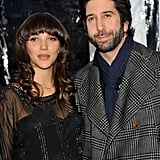 David Schwimmer and Zoe Buckman