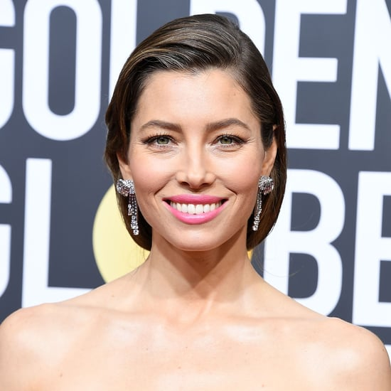 Jessica Biel Hair Golden Globes 2018