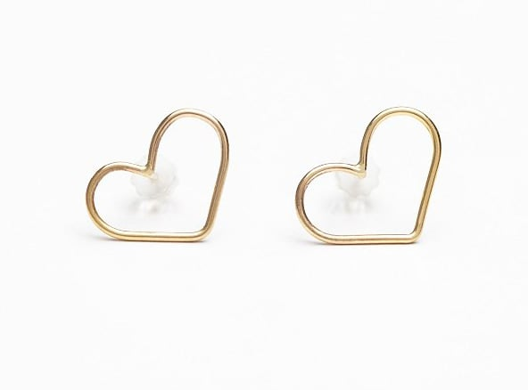 Free People Marida Heart Earrings