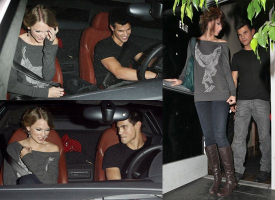 Photos of Taylor Lautner and Taylor Swift Date