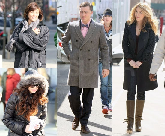 Photos of Gossip Girl Cast Filming in New York City