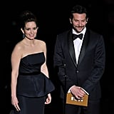 Tina Fey and Bradley Cooper presented an award during the 2012 Oscars.