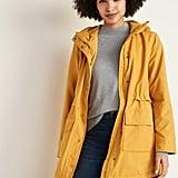Old Navy Water-Resistant Hooded Rain Jacket