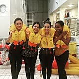 #Ditching! It was so much fun!!! #emiratescabincrew #ekcabincrew #emiratesaviationcollege #Emirates #Dubai #uae #angelsairways