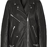 Alexander Wang Oversized Leather Biker Jacket