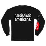 narcissistic americans. l/s shirt