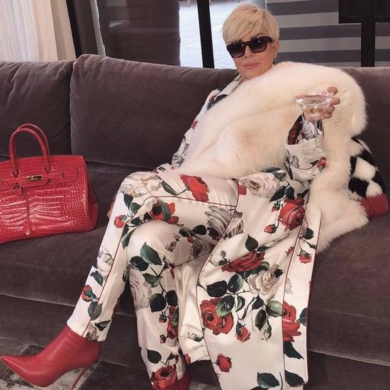 Kris Jenner Platinum Blond Hair Memes