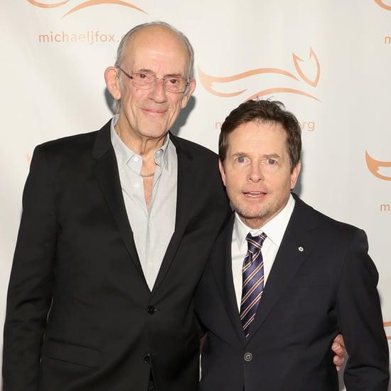 Michael J Fox and Christopher Lloyd Reunion Photo 2018