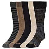 Men's 5pk Modern Dress Value Pack Socks