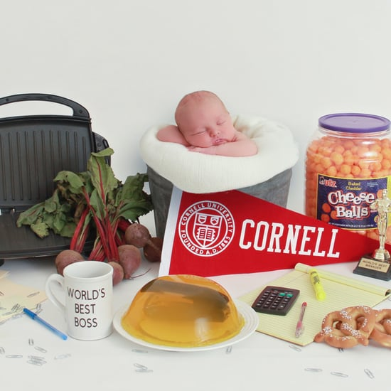 There's So Many References in This The Office Newborn Photo