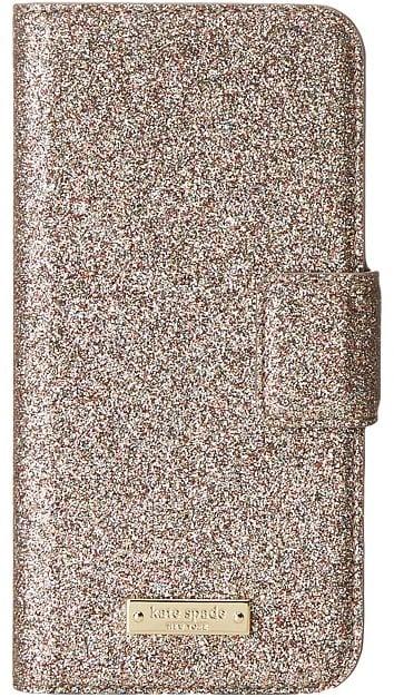 Kate Spade Glitter Wrap Folio Phone Case