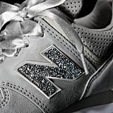 If Cinderella Wore Sneakers, She'd Totally Rock These Dreamy Swarovski Crystal New Balances