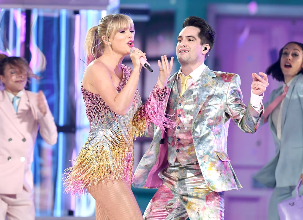 "I promise that you'll never find another Billboard Music Awards performance like Taylor Swift's. On Wednesday, the singer was joined by Panic! at the Disco frontman Brendon Urie as they opened the award show with their new single ""Me!"" Just like the colorful music video, the performance was nonstop fun as Swift and Urie danced and sang along on the pastel-hued stage.  If you can't get Swift's single out of your head, there's good news: she has even more new music in store! Shortly after the release of ""Me!,"" Swift teased that the title for her second single and seventh album are hidden somewhere in the music video. We can't help but wonder if her performance also included a few Easter eggs about what's to come. See all the action ahead, including a bunch of gorgeous photos from her set!"