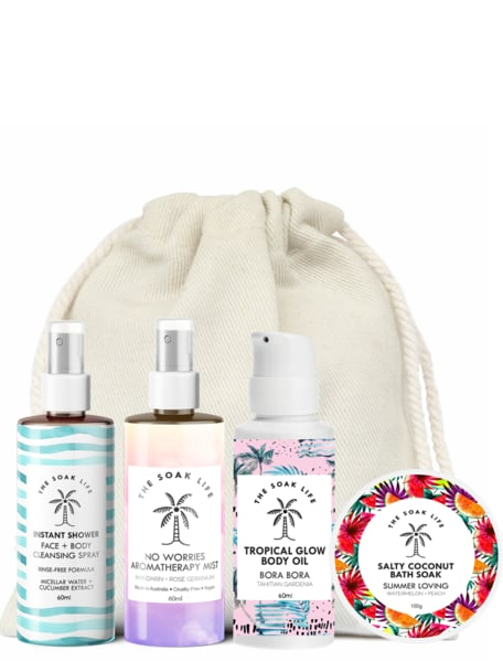 The Soak Life Jet Set Travel Kit