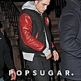 Robert Pattinson Has a Late Night Out With Friends in NYC