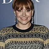 Bryce Dallas Howard With Her Naturally Red Hair Today