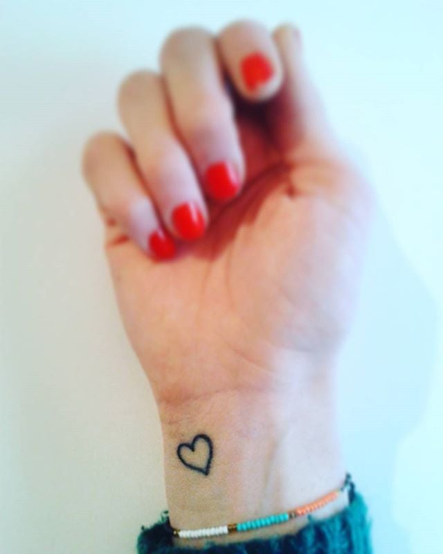 55 Small Heart Tattoos Tiny Heart Tattoo Pictures