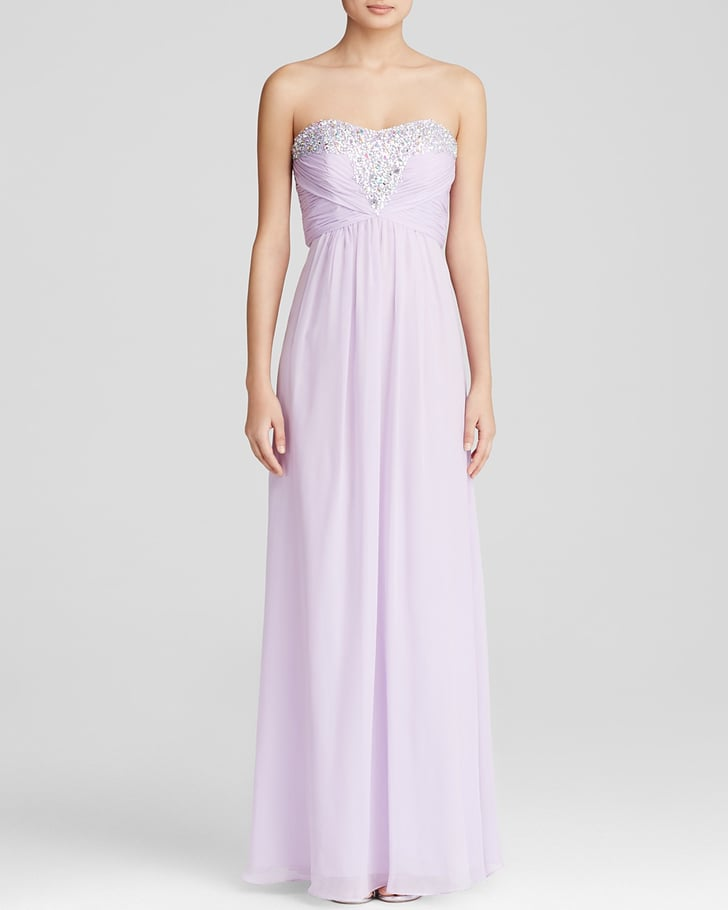 Embellished Bodice Strapless Wedding Gown: Decode 1.8 Gown Strapless Embellished Bodice ($229