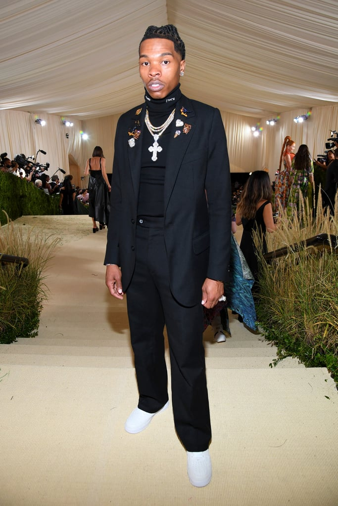 Lil Baby at the 2021 Met Gala