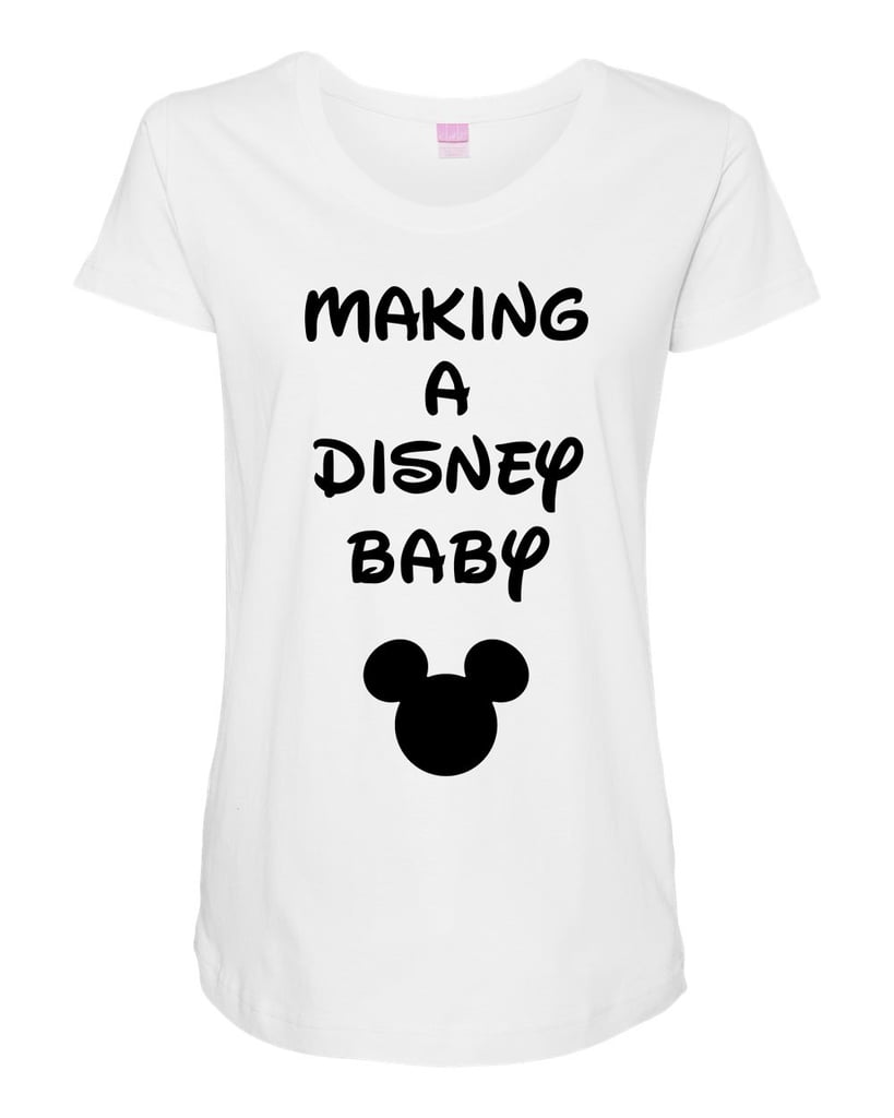 Making a Disney Baby Tee