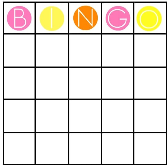 Bachelorette Bingo Cards  The Ultimate Bachelorette Finale