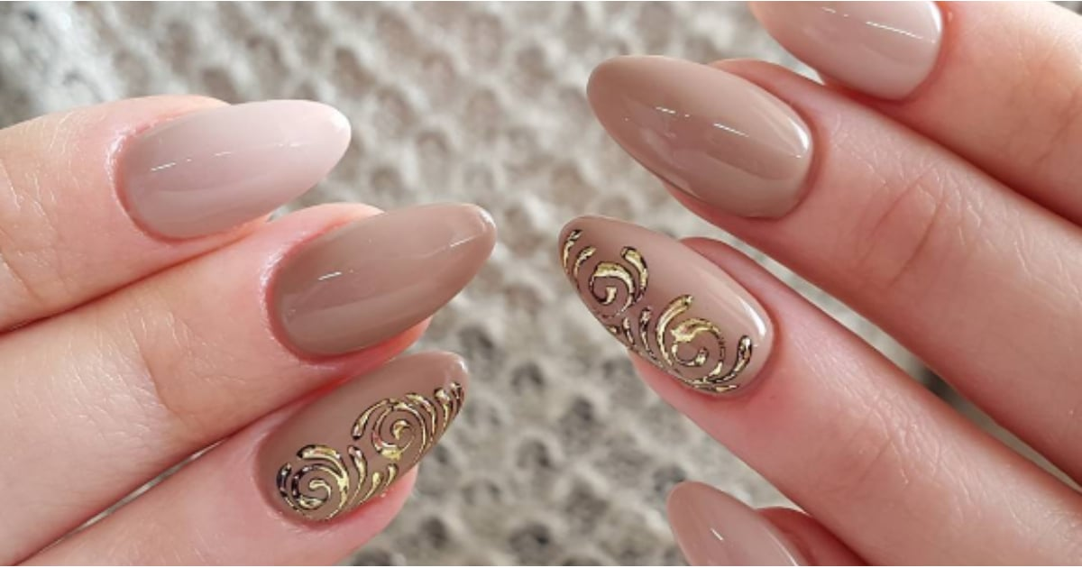 - Nude Nail Art Ideas POPSUGAR Beauty