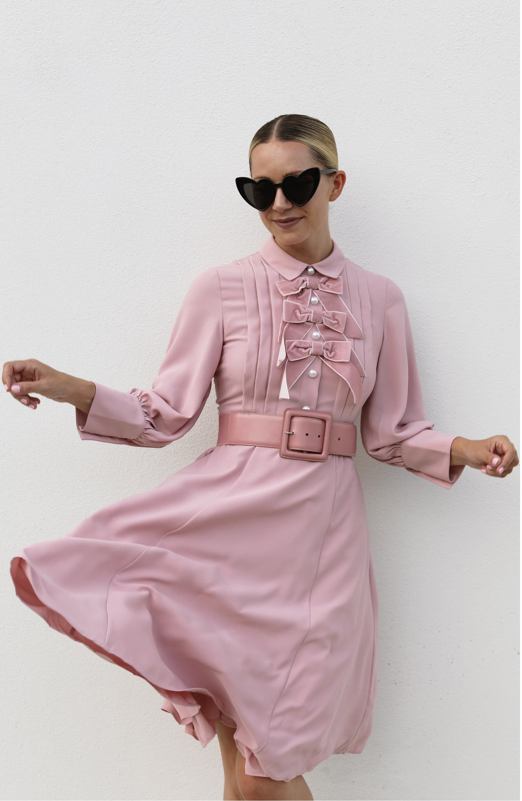 Halogen Atlantic Pacific Bow Blouse Dress At Nordstrom Popsugar Fashion Australia