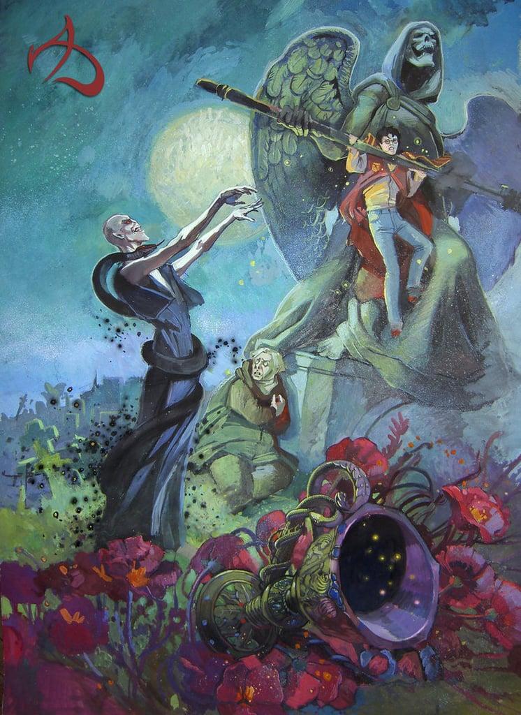 Goblet of Fire Graveyard Scene