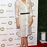 Ali Larter attended a Vanity Fair and Juicy Couture bash in LA.