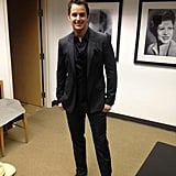 Easton Corbin struck a dapper pose before the CMAs. Source: Twitter user eastoncorbin