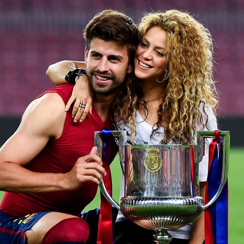 Shakira and Gerard Pique s
