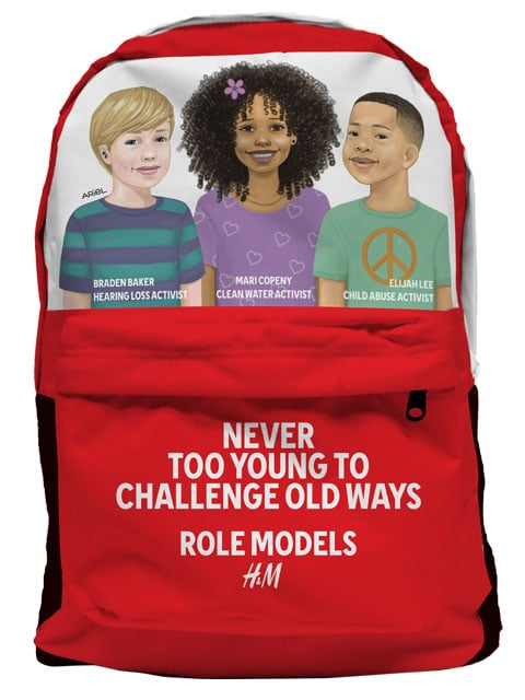 Limited-Edition H&M Role Models Backpack